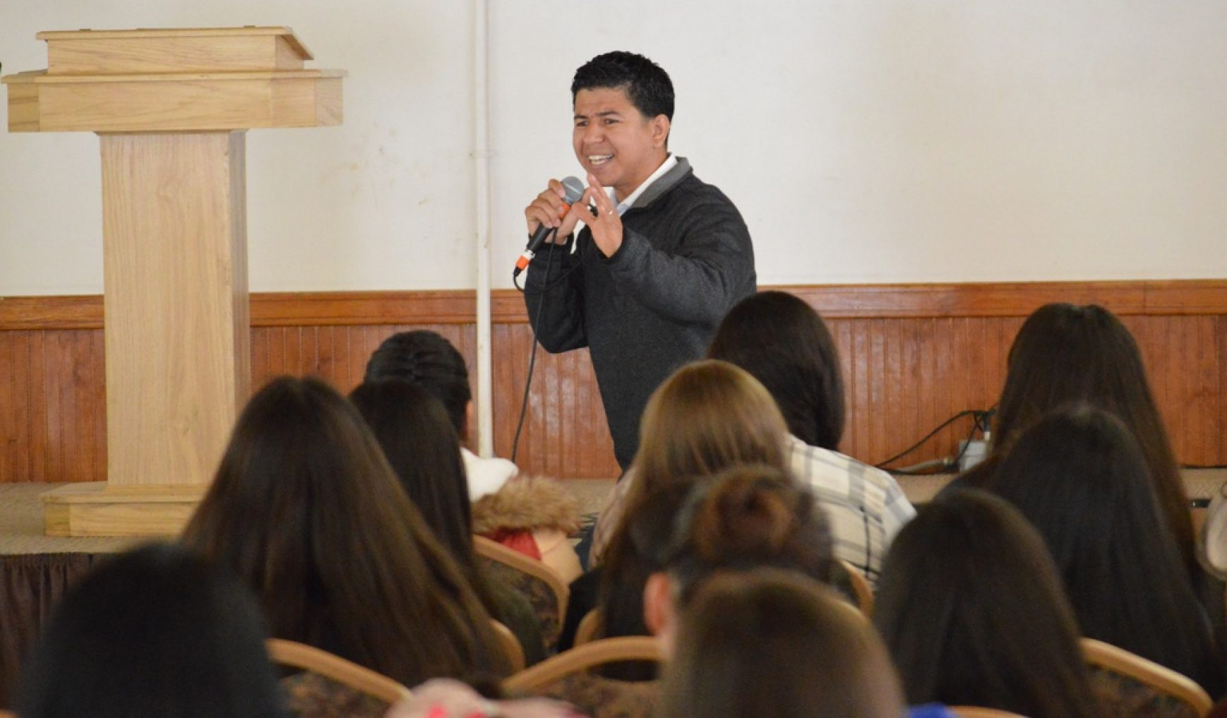 June 3, 2018 – Youth Camp – Bro. Marcial Tapia & Bro. Amos Roady